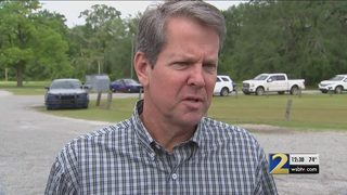 Gov. Brian Kemp signs state budget in south Georgia