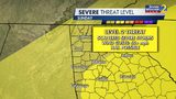 Severe Threat Level Sunday May 10