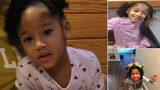 Maleah Davis, a 4-year-old Houston girl whose stepfather told police she was kidnapped Saturday by three men in Sugar Land.