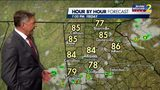 Isolated storms possible Friday evening