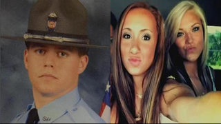 Jury deliberating case of ex-trooper accused in crash that killed 2 teens