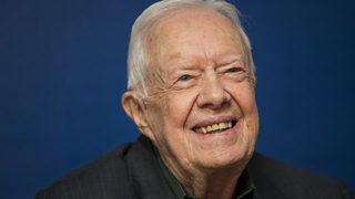 Former Pres. Jimmy Carter cancels plans to teach Sunday school after hip surgery