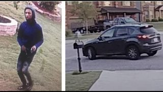 Police searching for man linked to at least 15 car thefts, break-ins