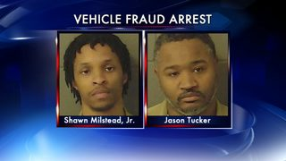 2 arrested in suspected theft ring involving high-end cars
