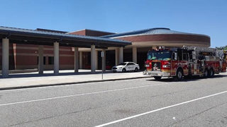 Gwinnett high school released early after complaints of scratchy throats