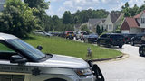 The SWAT team was called out the home along Twin Lakes Drive around 2 p.m. Tuesday.