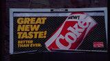 Coca Cola billboard for the short-lived New Coke.