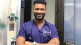 Man graduates with nursing degree from same university where he started as janitor