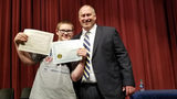 Student with special needs can't hide excitement over receiving 'Kindness Award'