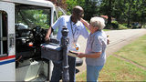 Neighborhood says goodbye to beloved mailman as he retires after 35 years