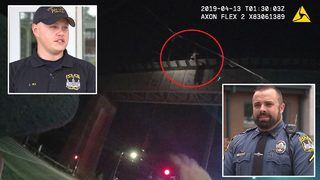 Officers save man threatening to jump off bridge: