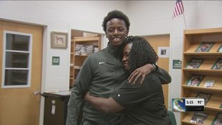 Homeless teen track star graduates with full scholarship to college