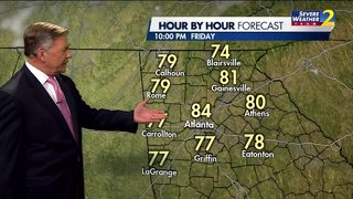 Temps to remain warm throughout the night