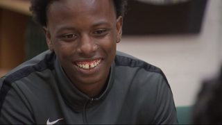 Homeless teen track star graduates with full-ride scholarship to college