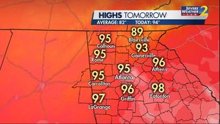 Atlanta breaks nearly 60-year heat record Saturday; heat wave continues