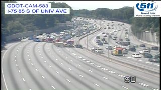 Memorial Day weekend traffic: Lanes of downtown connector reopen after crash