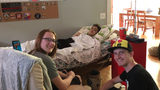 Teen with cancer will walk at graduation with help of firefighters