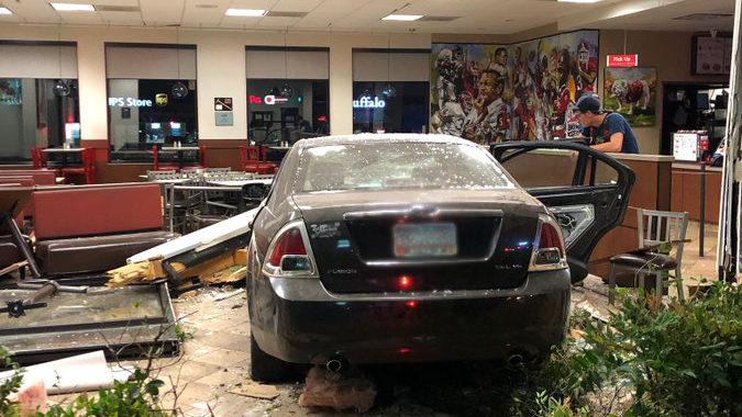 Car crashes into Athens Chick-fil-A | WSB-TV