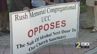 Historic church in legal fight with restaurant over liquor license