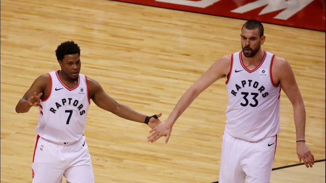 GALLERY: Best photos from Game 2 of the NBA Finals   WSB-TV