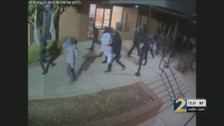 Police searching for group of people who vandalized DeKalb government building