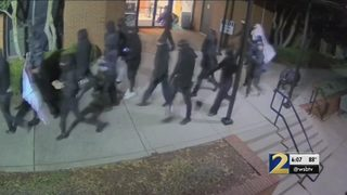 Vandalism to DeKalb government building could be connected to jail protests