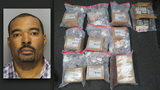 Don Juan Johnson, 40, is facing charges of felony possession of a controlled substance with intent to distribute after Customs agents intercepted the packages at JFK airport in New York City.