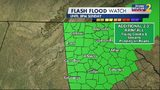 Flash flood watch expanded for all of north Georgia
