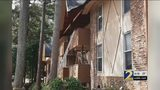 Families can't go back to their apartments after wall collapses