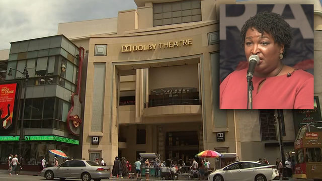 Stacey Abrams goes to Hollywood to meet with movie execs over heartbeat law