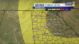 Chance for strong to severe storms this afternoon