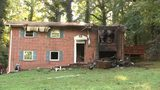 Firefighters responded to a house fire on Kenny Court in East Point Saturday morning.