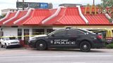 Shooting scene at McDonald's in East Point