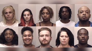 10 arrested in prostitution bust at metro Atlanta hotel (MUGSHOTS)