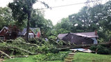 Severe storms leave some behind damage in central, north Georgia