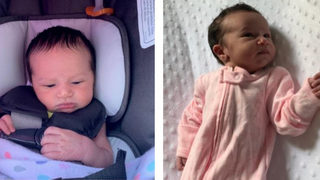 Deputies release new photos of abandoned newborn found wrapped in plastic