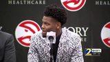 RAW VIDEO: Hawks coach Lloyd Pierce on selecting Cam Reddish