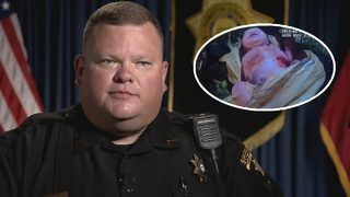 Deputy who rescued newborn in plastic bag says he did what any dad would do