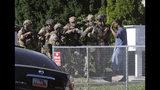 Salt Lake City police take a man into custody in connection with missing University of Utah student MacKenzie Lueck in Salt Lake City on Friday, June 28, 2019. (Kristin Murphy/The Deseret News via AP) MANDATORY CREDIT