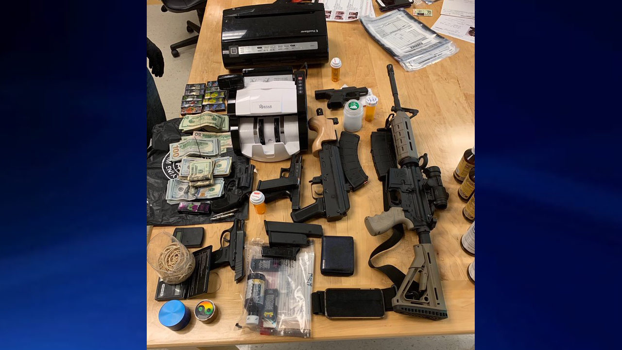 COWETA COUNTY DRUG BUST: Drugs, guns, $20K in cash seized from home