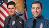 Athens officers David Harrison and Charles Bidinger
