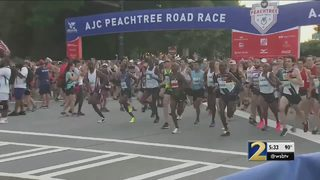 Heads up, runners: Heat, humidity could impact you on AJC Peachtree Road Race