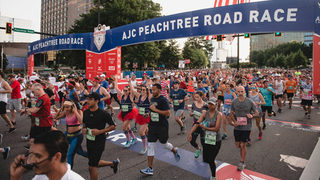 Heat, humidity prompt red alert during AJC Peachtree Road Race