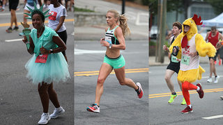 PHOTOS: Elite runners, crazy costumes, real heroes fill Peachtree Road Race