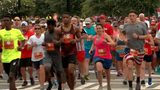 60,000 people participate in AJC Peachtree Road Race