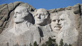 FILE:: Mount Rushmore National Memorial towers over the South Dakota landscape. (Photo by Scott Olson/Getty Images)
