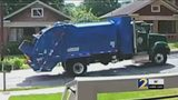 Recycling truck crashes into parked car, then drives away ... and it was all caught on video