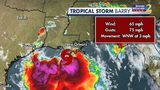 Slow-moving Tropical Storm Barry marching toward Louisiana