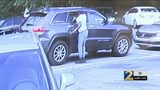Do you recognize them? Video shows men breaking into cars in busy strip mall