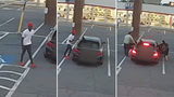 RAW VIDEO: Couple confronts brazen thief trying to steal car in broad daylight